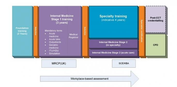 Proposed outline model for physician training V7